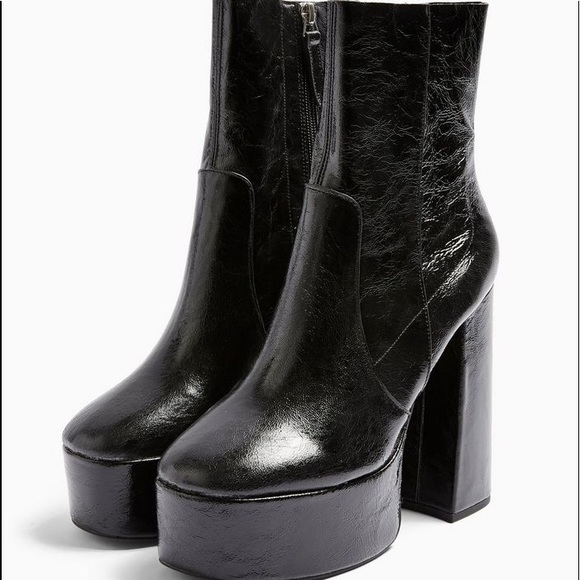 Iso Topshop Electric Platform Boots